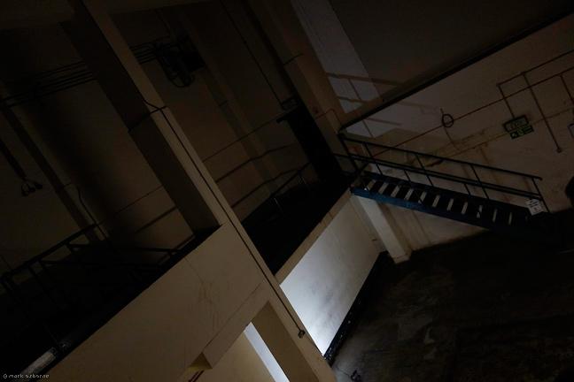 The now empty CET Print Hall