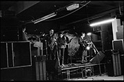Swinging Cats, soundcheck, Lanch Downstairs Bar, 1980