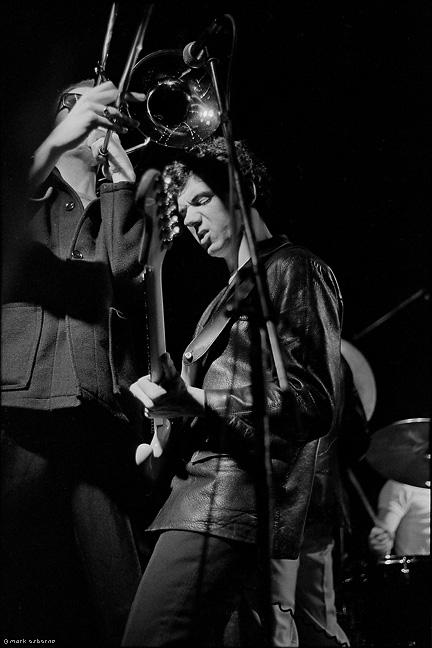 Big Jim Paterson, and Kevin Roland, Dexys Midnight Runners, Warwick Uni, 14th Febuary, 1980