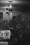 Nigel Mulvey ? in unknown band, Butts Free Gig, 1979