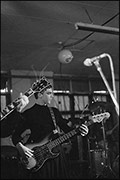 Chris Dickie, Gods Toys, supporting The Specials, Butts SU Building, 1979