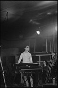 Nick Kavaz, Gods Toys, supporting The Specials, Butts SU Building, 1979