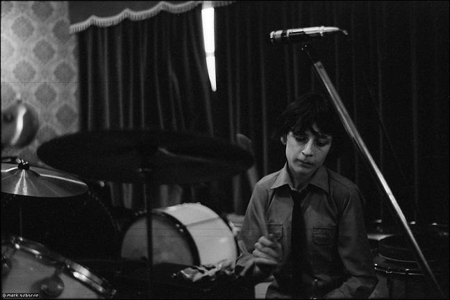 Tony Lynch on drums, Wild Boys, Swanswell, 1979