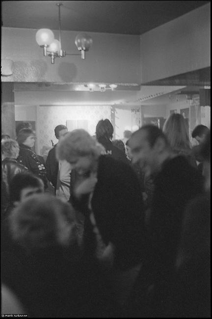 Audience, Criminal Class gig, Zodiac, probably early 1980