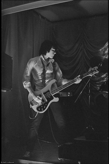 Blown Fuze bassist Mick Galic