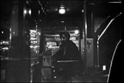 Last bus, night of Clique, The Targets, Swanswell Tavern, 1979