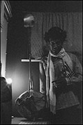 Don Cherry, backstage, Coventry Theatre, 21st September 1979