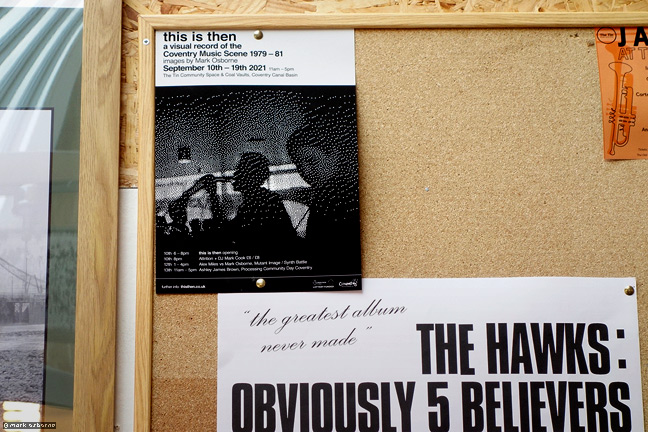 This Is Then poster in Just Dropped In…… Records